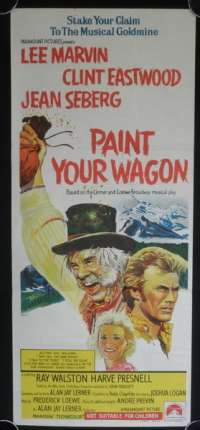 Paint Your Wagon Poster Original Daybill Clint Eastwood