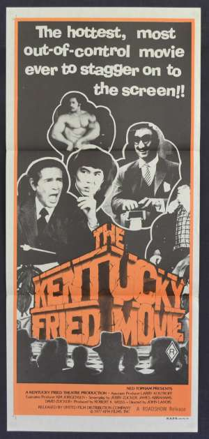 Kentucky Fried Movie Movie Poster Daybill John Landis George Lazenby