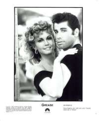 Grease 1978 Movie Still Re-Issue John Travolta Olivia Newton John No.2