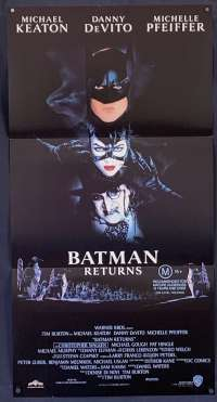 Batman Returns Michael Keaton Daybill movie poster