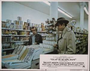 Play It Again Sam - Woody Allen Lobby Card No 2