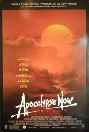 Apocalypse Now (Rolled) One Sheet Australian Movie Poster