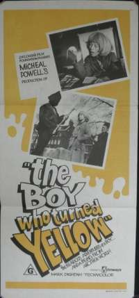 The Boy Who Turned Yellow Movie Poster Daybill