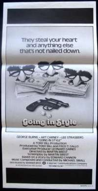 Going In Style Daybill Movie poster