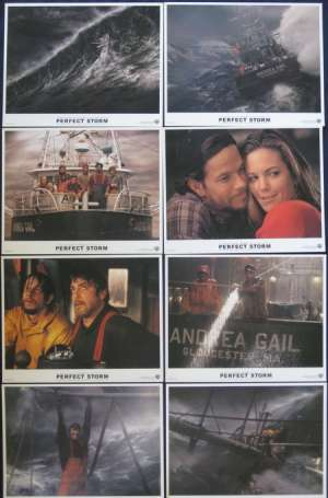 The Perfect Storm Lobby Card Set George Clooney