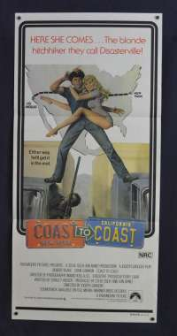 Coast To Coast 1980 Daybill Movie poster Dyan Cannon