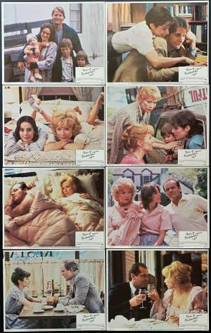 Terms Of Endearment 1983 Shirley Maclaine Jack Nicholson Lobby Card Set