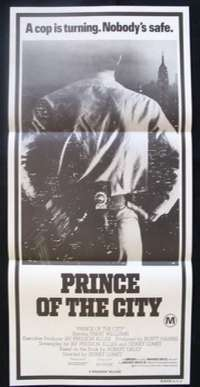 Prince Of The City Daybill Movie poster