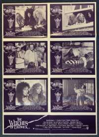 The Witches Of Eastwick Poster Original Photosheet 1987 Jack Nicholson Cher
