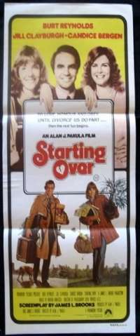 Starting Over Daybill Movie poster