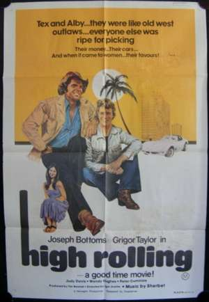 High Rolling 1977 Bottoms Judy Davis Wendy Hughes One Sheet movie poster