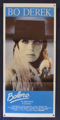 Bolero 1984 Daybill movie poster erotic Bo Derek
