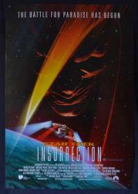 Star Trek Insurrection 1998 One sheet movie poster D/S Patrick Stewart
