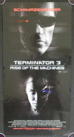 Terminator 3 Rise Of The Machines Daybill movie poster Schwarzenegger