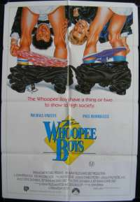 The Whoopee Boys Michael O'Keefe One Sheet Australian movie poster