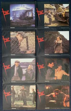 Eye Of The Needle Poster Original Photosheet 1981 Donald Sutherland Kate Nelligan