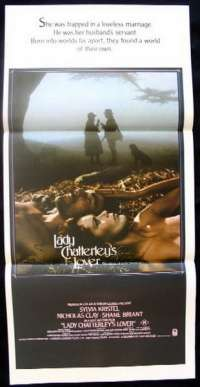 Lady Chatterley's Lover Daybill Movie poster