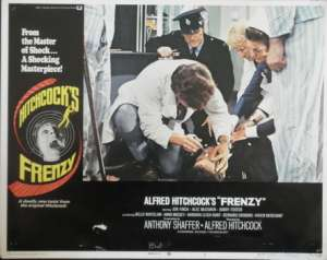 Frenzy Lobby Card 11x14 USA No 7 Original 1972 Hitchcock Jon Finch Alec McCowen