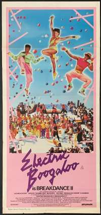 Breakin 2: Electric Boogaloo 1984 movie poster Daybill