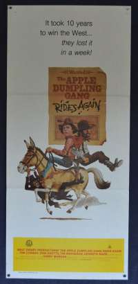 The Apple Dumpling Gang Rides Again Movie Poster Original Daybill Tim Conway
