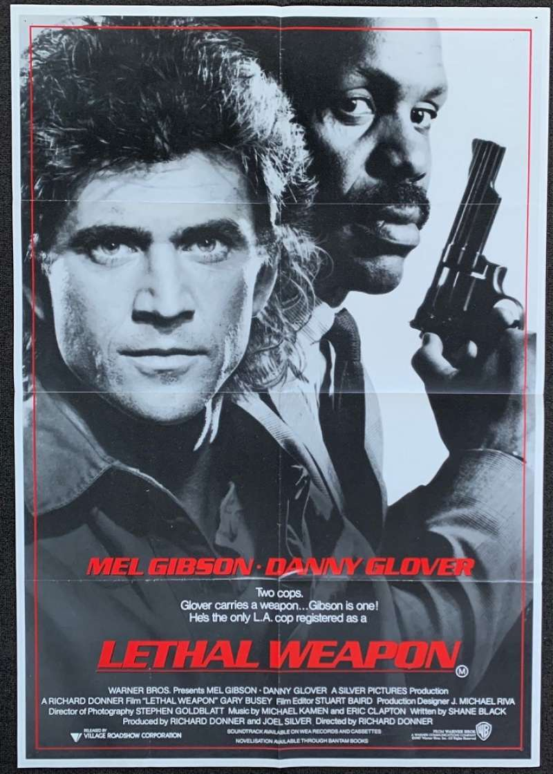 all about movies lethal weapon 1987 movie poster one