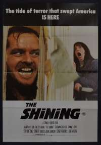 The Shining Poster Original One Sheet 1980 Jack Nicholson Stanley Kubrick