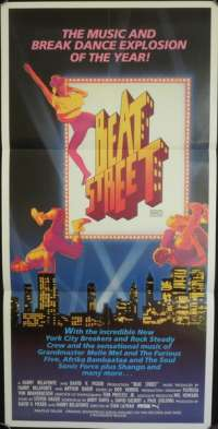 Beat Street - Cult Daybill Movie poster