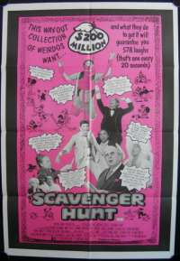 Scavenger Hunt One Sheet Australian Movie poster