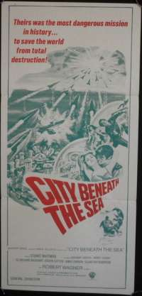 City Beneath The Sea movie poster James Darren Daybill