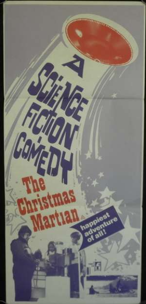The Christmas Martian Poster Original Daybill 1971 Aka Le Martien De Noël