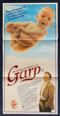 The World According To Garp Daybill movie poster Robin Williams