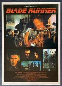 Blade Runner Poster Commercial Reprint 1982 Harrison Ford Ridley Scott