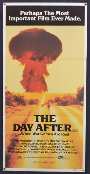 The Day After Movie Poster Original Daybill 1983 Jason Robards Nuclear War