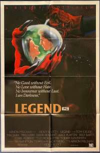 Legend Poster Original USA International 1985 Tom Cruise Mia Sara