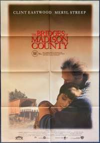 The Bridges Of Madison County Poster Original One Sheet 1995 Clint Eastwood