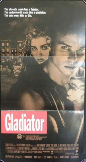 Gladiator Daybill Movie poster