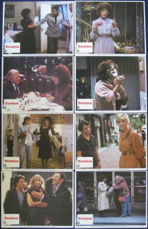 Tootsie Lobby Card Set USA Dustin Hoffman Jessica Lange Bill Murray