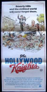 Hollywood Knights Daybill Movie poster