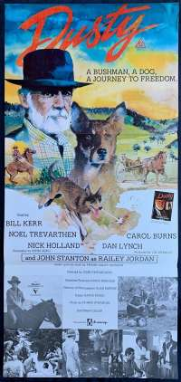 Dusty 1983 Bill Kerr Australian Daybill movie poster