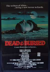Dead And Buried Poster Original English One Sheet 1981 James Farentino