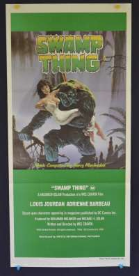 Swamp Thing Movie Poster Original Vintage Daybill