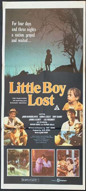 Little Boy Lost 1978 John Hargreaves Aboriginal Daybill movie poster