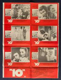 10 Bo Derek Dudley Moore Rare Photosheet movie poster