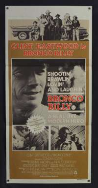 Bronco Billy Poster Original Daybill 1980 Clint Eastwood Western