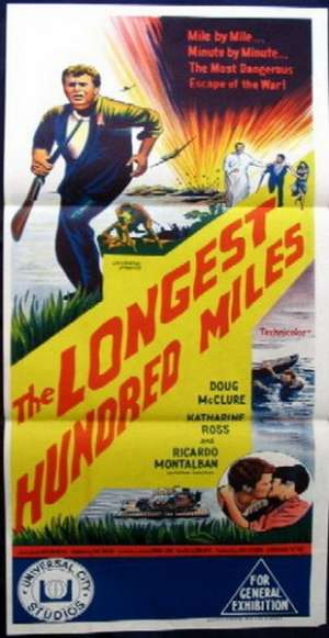 The Longest Hundred Miles 1967 Doug McClure Daybill movie poster