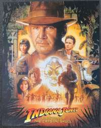 Indiana Jones And The Kingdom Of Crystal Skull Poster Original DVD Release
