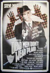 Dead Men Don't Wear Plaid One Sheet Australian Movie poster