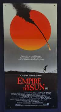 Empire Of The Sun Movie Poster Original Daybill Christian Bale John Malkovich