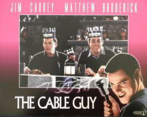 The Cable Guy Jim Carrey Lobby Card