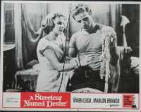 A Streetcar Named Desire 1951 Marlon Brando Vivien Leigh 11x14 USA Lobby Card No. 4
